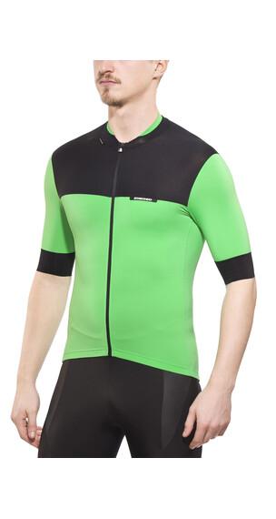 Etxeondo Rali Cykeltrøje korte ærmer Herrer grøn/sort